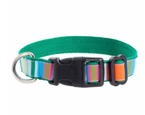 Mellie Stripe Dog Collar Small
