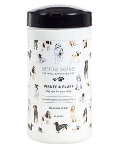 Wruff & Fluff Meadow Doggy Grooming Wipes
