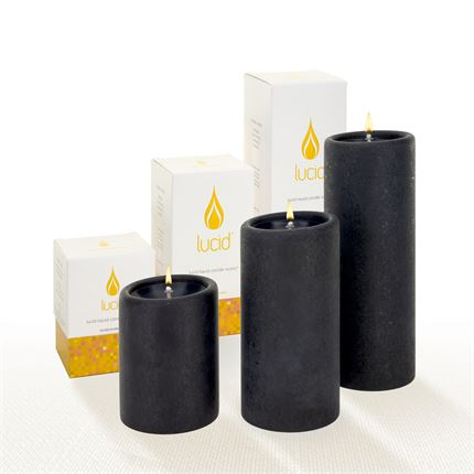 Black Lucid Candle