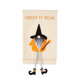 Creep Dangle Gnome Witch Towel