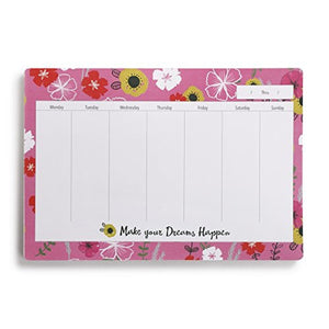 Make Your Dreams Happen Weekly Planner