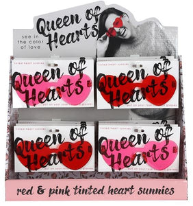 Queen of Hearts Glasses