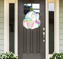 Load image into Gallery viewer, Easter Bunny's Here Door Decor