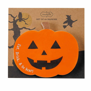 Pumpkin Shaped Paper Napkins