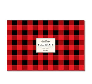 Buffalo Plaid Paper Placemats