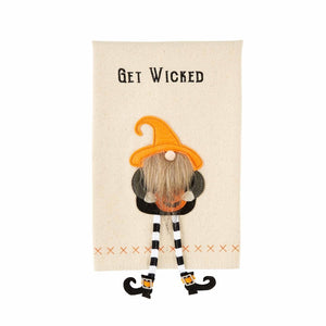 Get Dangle Gnome Witch Towel