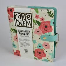 A5 Planner Boxed Set- Cream Blossom