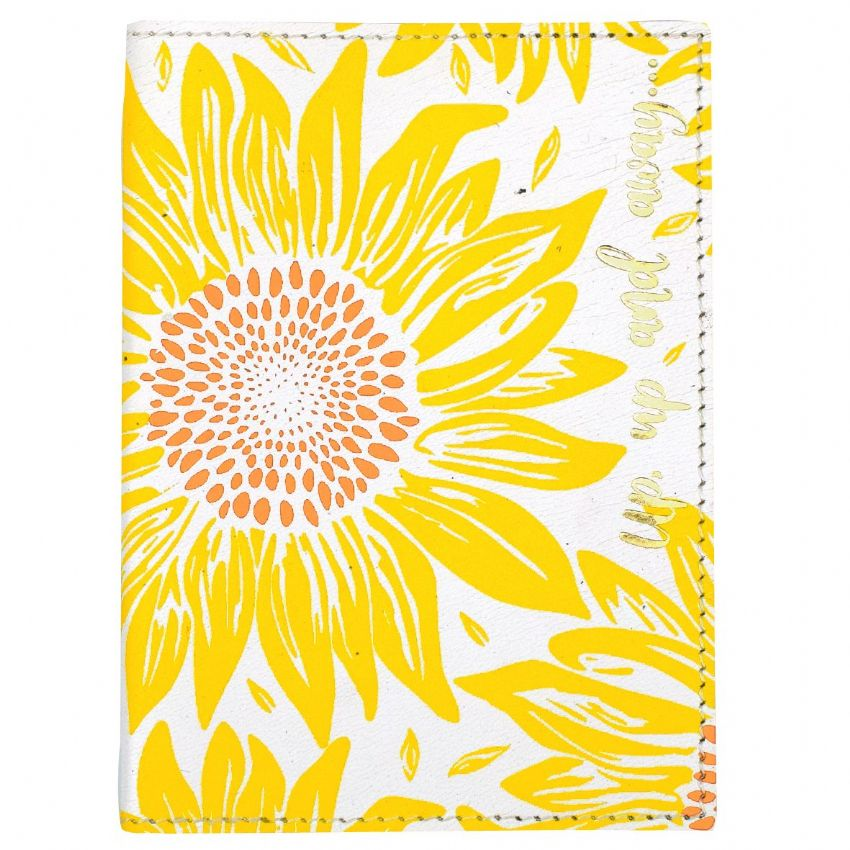 Sunflower Passport Cover