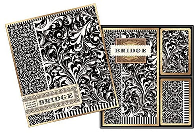 Black Florentine Bridge Set