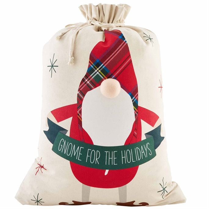 Gnome Holiday Gift Sack
