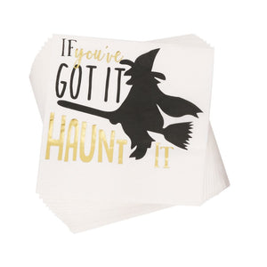 Haunt It Cocktail Napkins