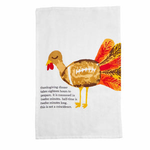 Football Turkey Food Towel