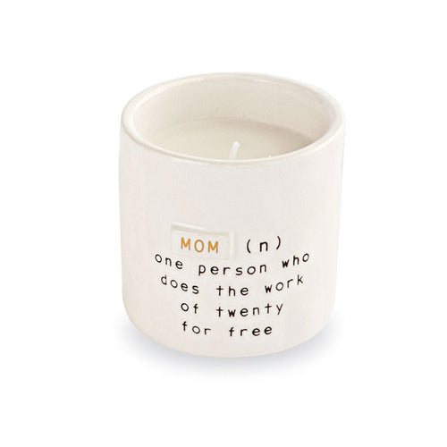 Mom Definition Boxed Candle