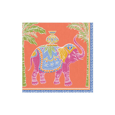 Royal Elephant Boxed Cocktail Napkins