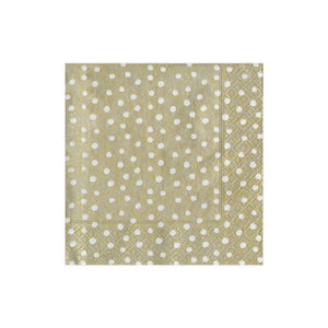 Small Dots Boxed Cocktail Napkins