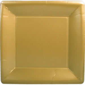 Solid Gold Square Plates