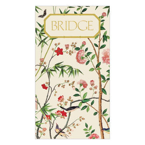 Chinese Wallpaper Bridge Score Card