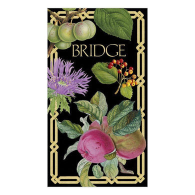 Decoupage Bridge Score Card