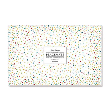 Sprinkles Paper Placemats