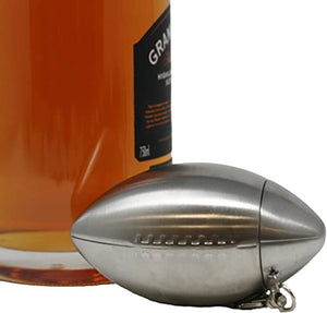 Stainless Steel Football Flask