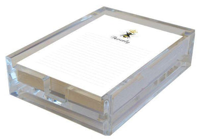 Queen Bee in Acrylic Boxed Lined Notes