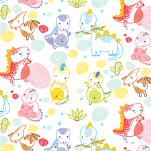 Load image into Gallery viewer, Dino Daze Gift Wrap