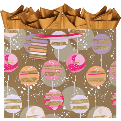 Golden Glimer Large Gift Bag