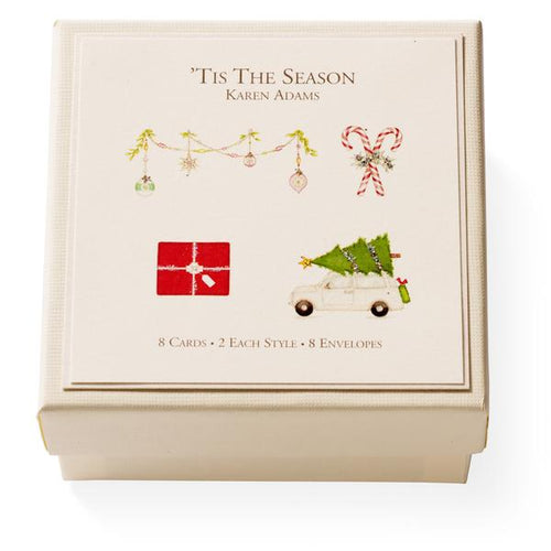 Tis the Season Boxed Gift Enclosures