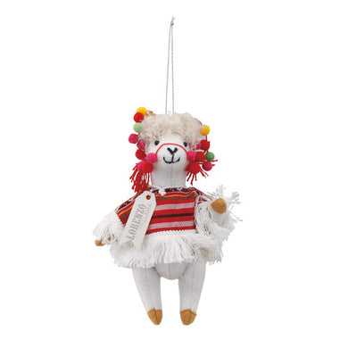 Lorenzo the Llama Peruvian Traveler Ornament