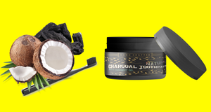 All natural Charcoal Toothpaste + Coconut Oil **New**