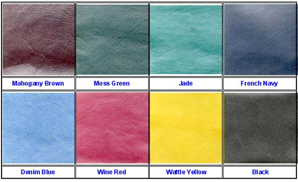 Kangaroo Leather Yen Style Wallet - Colours