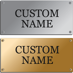 Custom Engraved Stable Plate