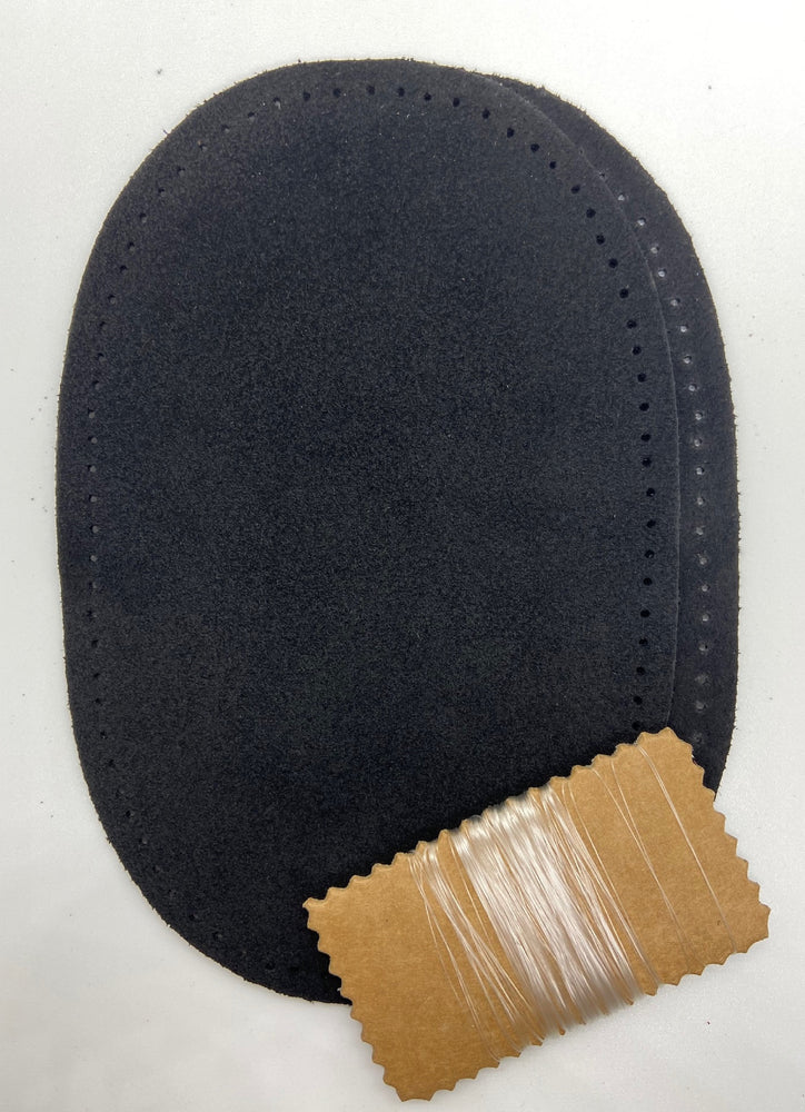 Suede Leather Elbow Patch