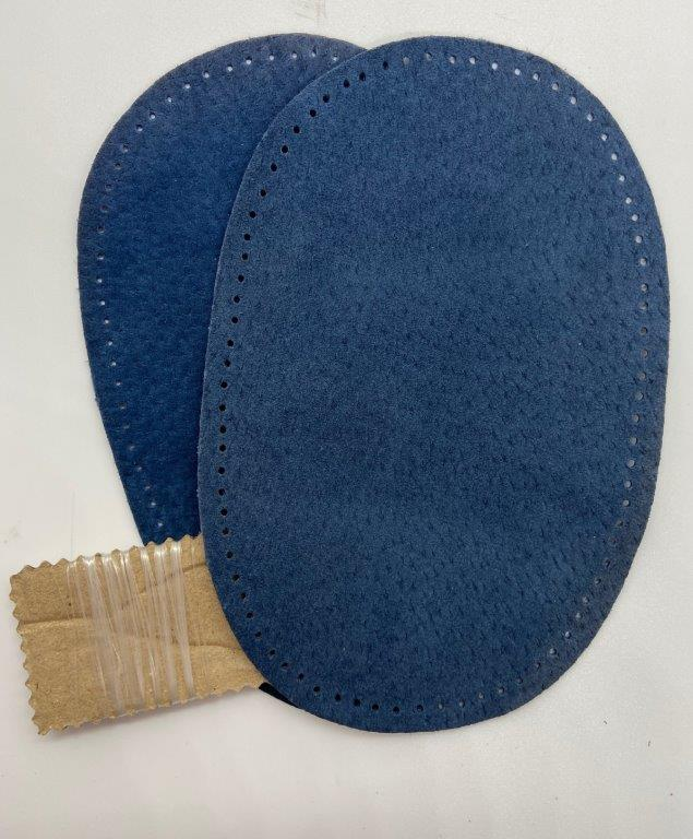 Hand punched Pigskin Leather Elbow/Knee Patches