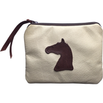 Hamag Pigskin Leather Horse Head Purse