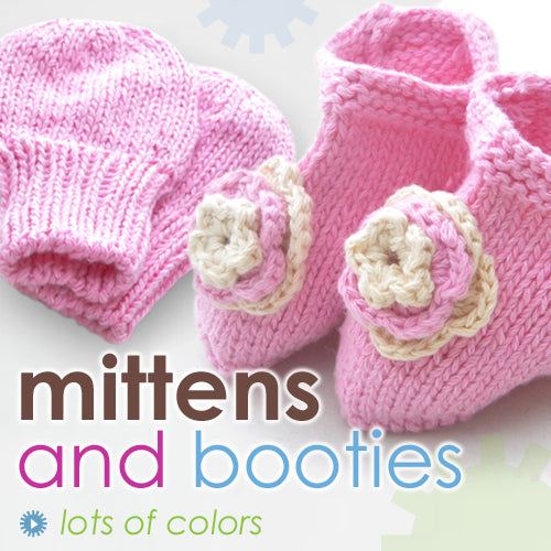 New Additions: Mitten & Booties Set