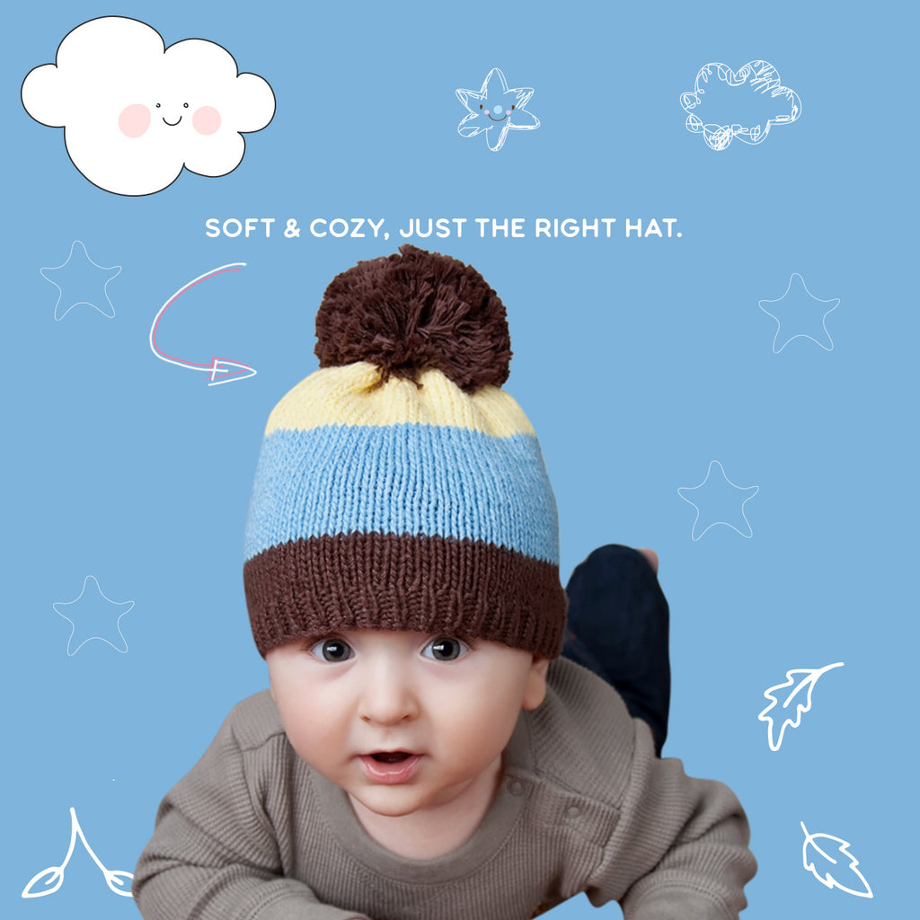 Baby boy & Toddler hats - crocheted/knit hats for kids