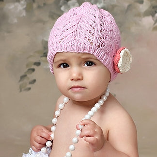 Baby Flower Hats Pink
