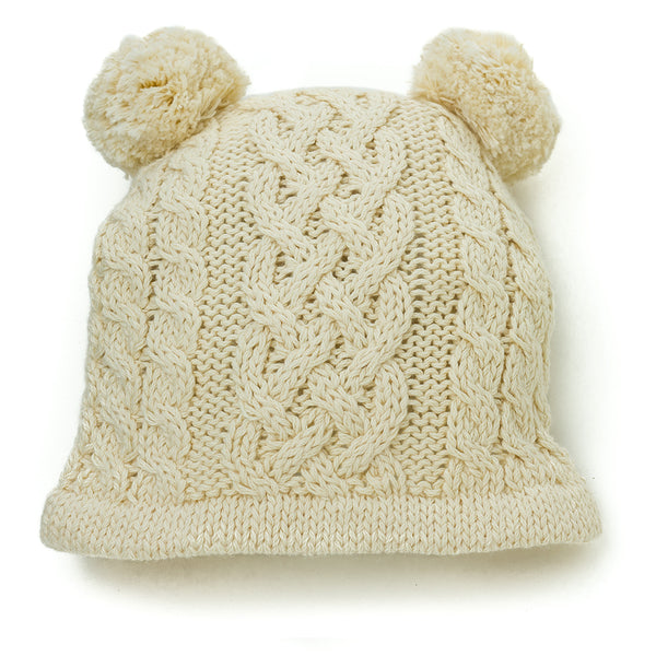 Heirloom Handcrafted Classic Knit Hat for Baby - Chizipoms
