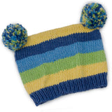 Perfect Pom Pom Pair Hand Knit Hat - Chizipoms