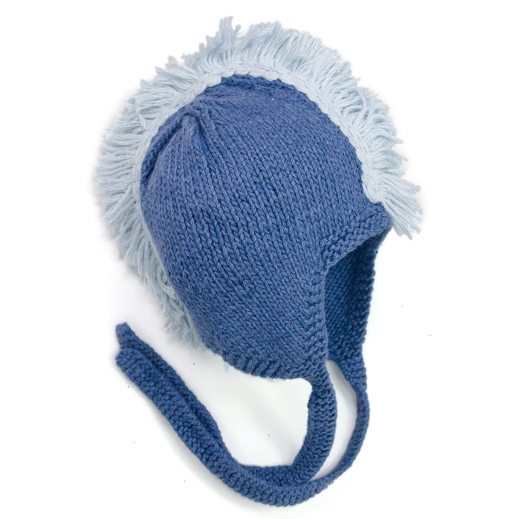 Come Fly With Me Aviator Mohawk Knit Hat - Chizipoms