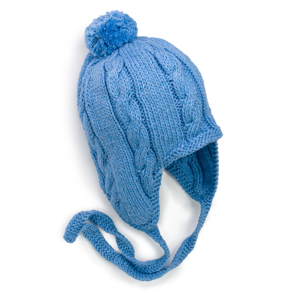 Go Anywhere Face Framer Cable Knit Hat - Chizipoms