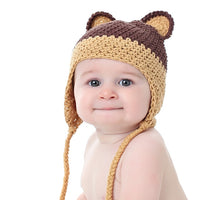 """Ear"" ily Cute Crocheted Baby Hat - Chizipoms"
