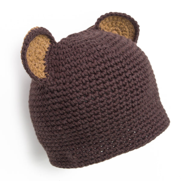 """Ears to Baby"" Hand Crocheted Hat - Chizipoms"