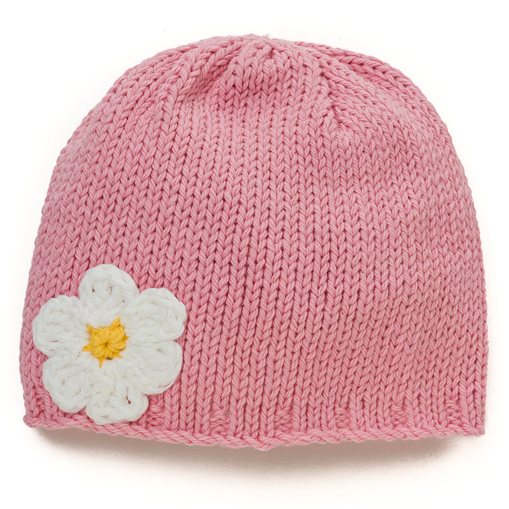 Roses and Daisies Baby Beanie Hat - Chizipoms