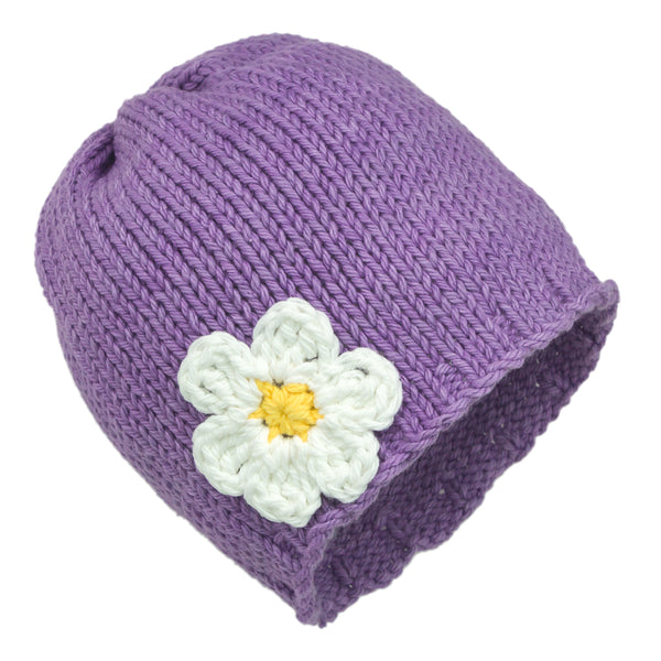 Lighter Shade of Purple Blossom Hat - Chizipoms