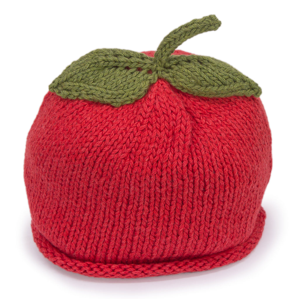 Apple of Mom's Eye Knit Cap - Chizipoms