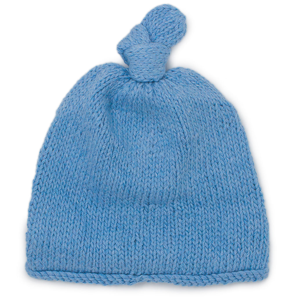 Baby Boy Blue Beanie - Chizipoms