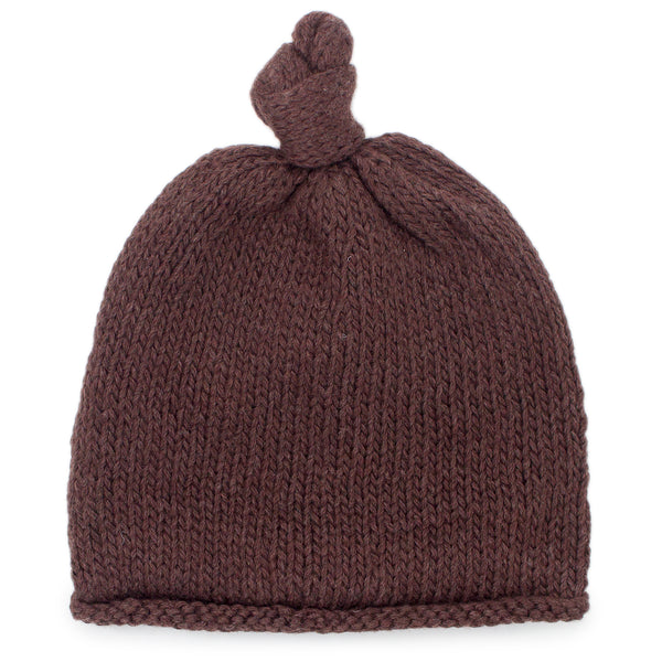 Baby Boy Brown Beanie - Chizipoms