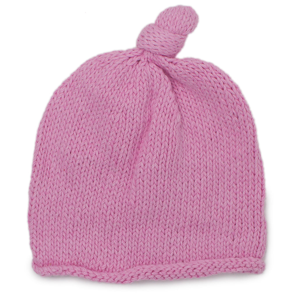 Baby Girl Pink Beanie - Chizipoms